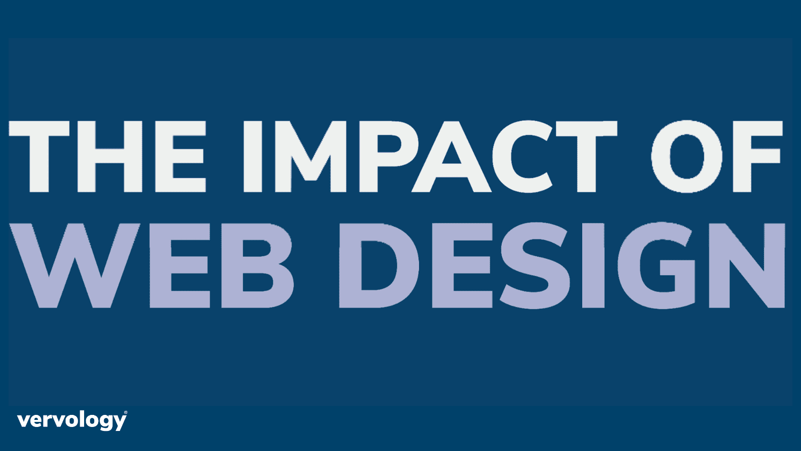 The Impact of Web Design