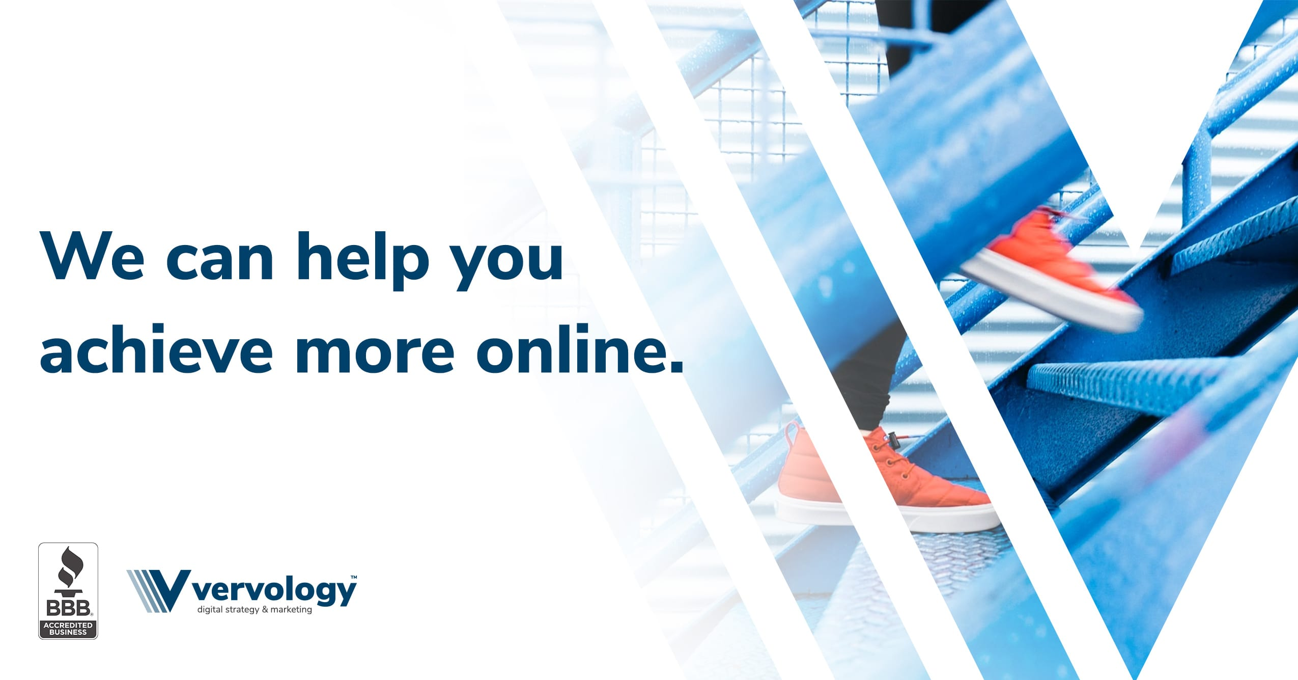 We can help you achieve more online.