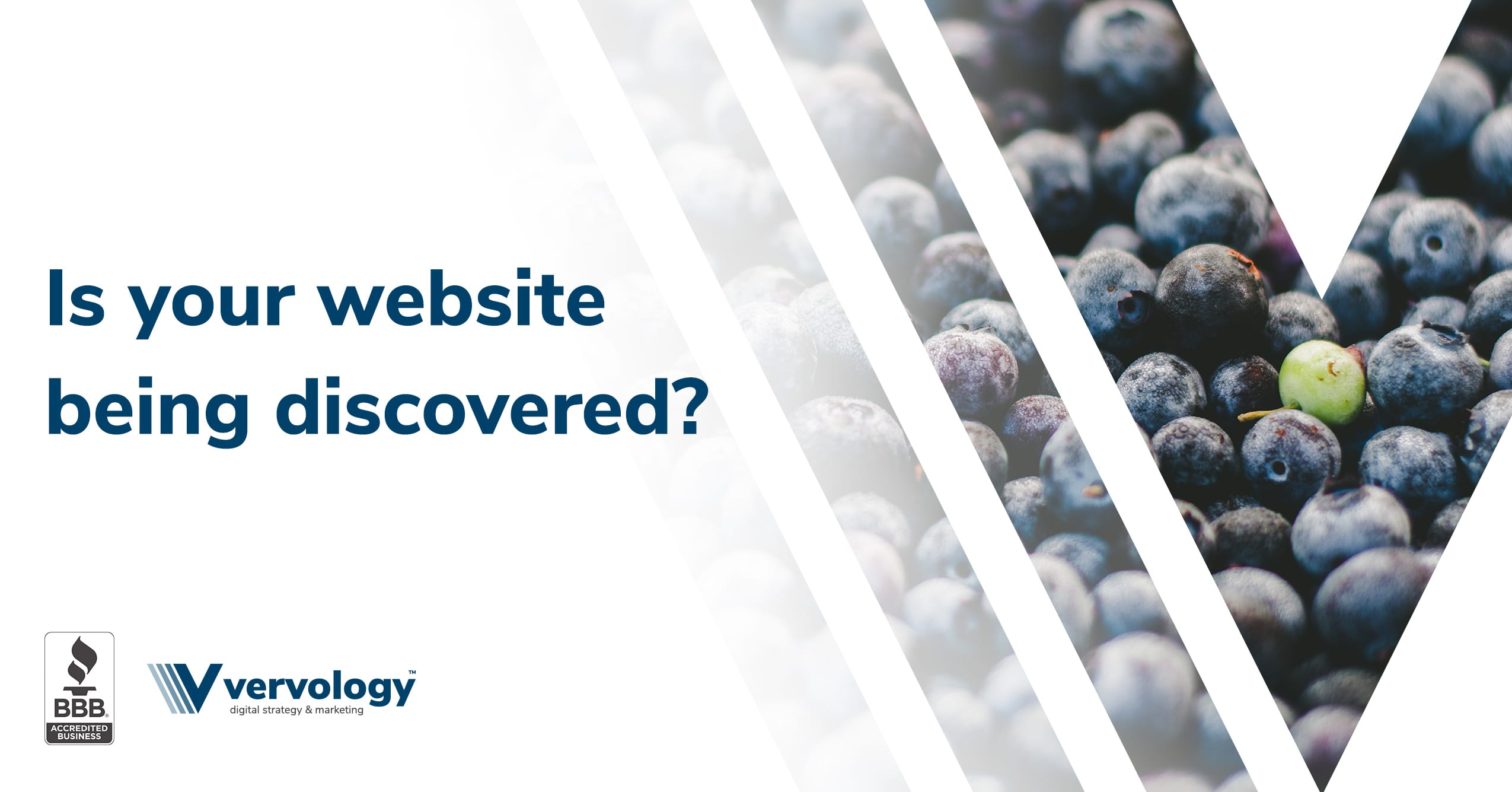 Is your website being discovered?