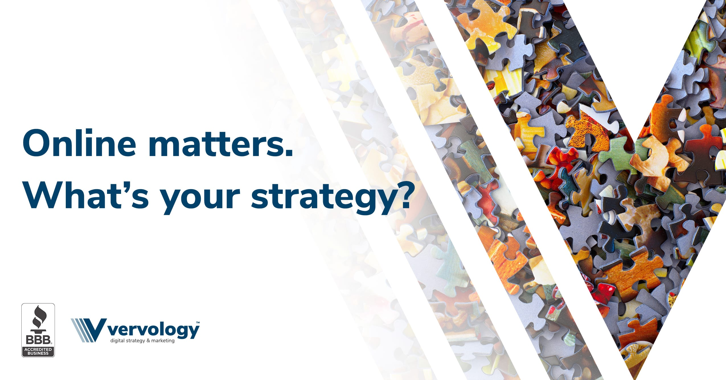 Online matters. What's your strategy?